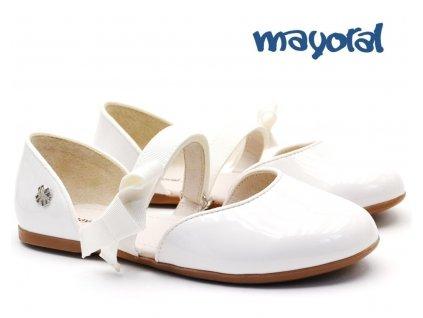 Dívčí balerínky MAYORAL 45.153 096 White