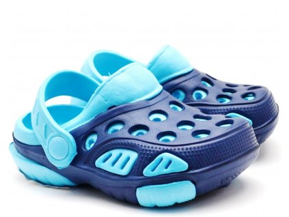 WINK ECO Clogs pantofle nazouvací modré