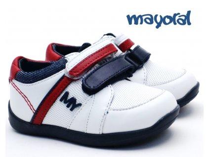Chlapecké botasky MAYORAL 41.170 084 white