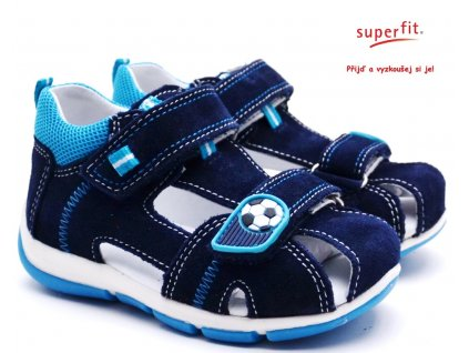 Dětské sandále SUPERFIT 8-00144-81 ocean kombi