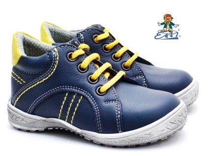SÁZAVAN ESSI S 2001 Dětské boty modrožluté