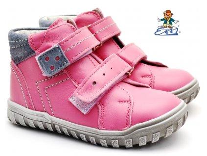 SÁZAVAN ESSI S 2046 Dětské boty sv. růžové