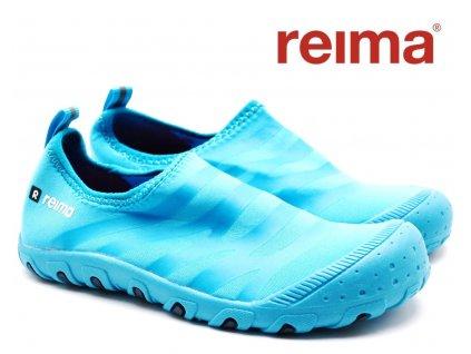 Dětské plážové tenisky REIMA Adapt - Cyan blue