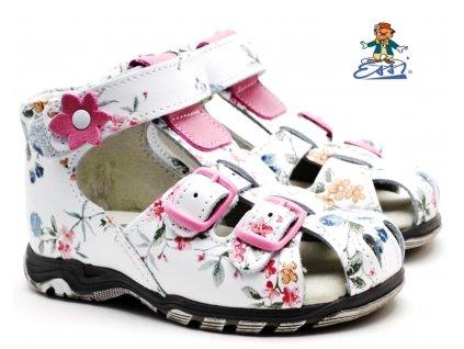 Dětské sandále SÁZAVAN ESSI S 3040 bílé