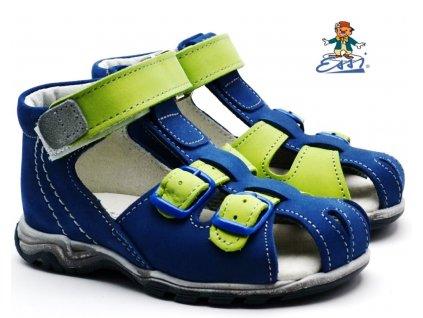 Dětské sandále SÁZAVAN ESSI S 3040 modrozelené