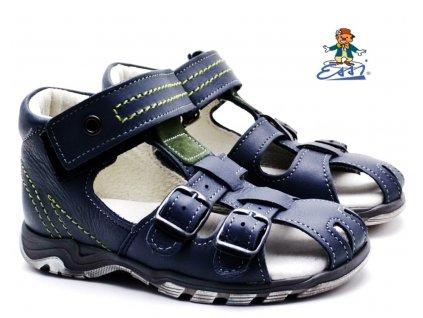 Dětské sandále SÁZAVAN ESSI S 3050 šedé