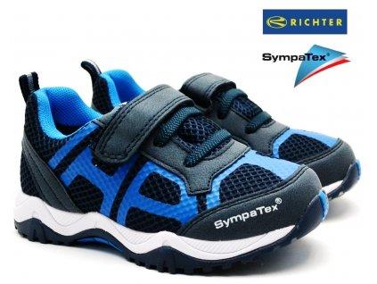 Dětské boty RICHTER 6438 7171 7201 atlantic