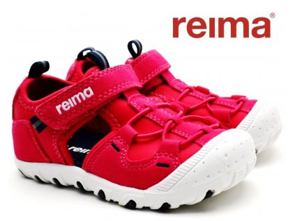 Dětské sandále REIMA Rhombus Berry pink