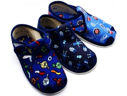 Chlapecké bačkory HP Čechtín 805 sandál, suchý zip