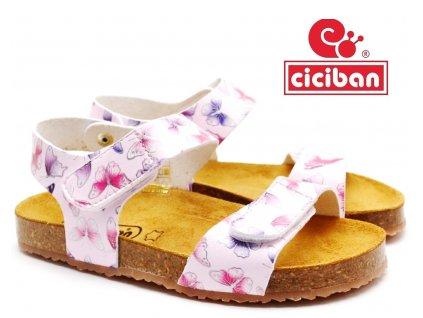 Bio sandále CICIBAN 305218 FLY-PINK