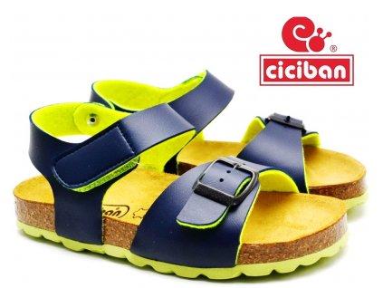 Bio sandále CICIBAN 305016 DEEP