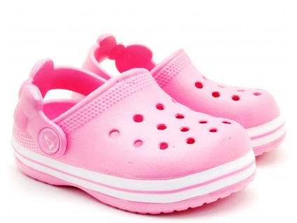 American Club Clogs pantofle nazouvací mašle