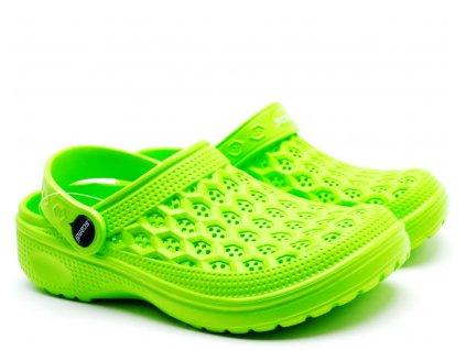 Scandi Clogs nazouváky 59-0550 zelené