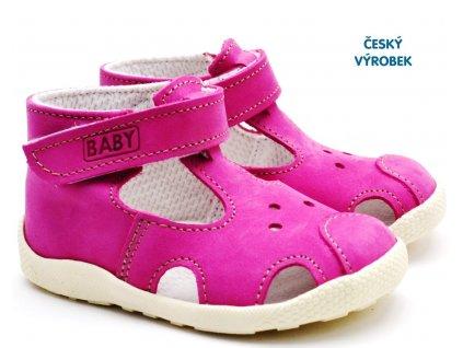 Letní capáčky VELETA 026 růžové