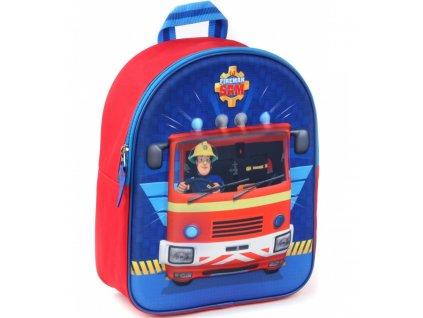 Dětský batoh 3D POŽÁRNÍK SAM Va 9447