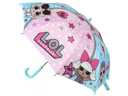 Deštník dětský L.O.L. Cer 0497-958 tyrkys