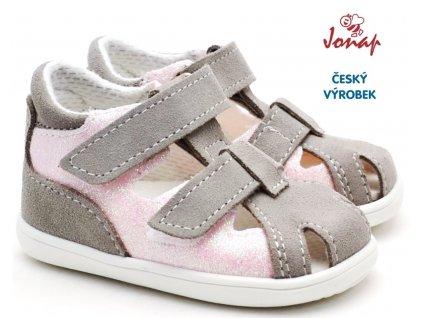 Dětské sandále JONAP 041s devon růžové