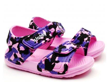 Dětské sandále SLOBBY 191-0018 růžové