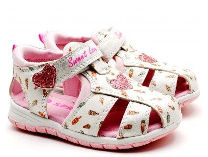Sandále SPROX 492691 Silver pink