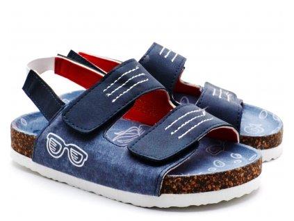 Bio sandále SPROX 499342 Navy