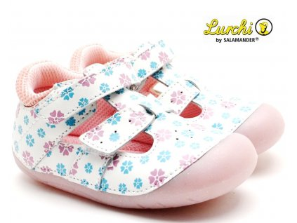LURCHI 33-13998-01 white Barefoot sandále
