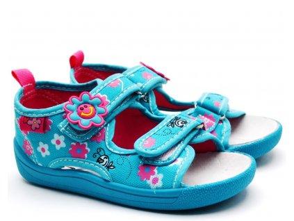 Textilní sandále SLOBBY 151-0012 modré