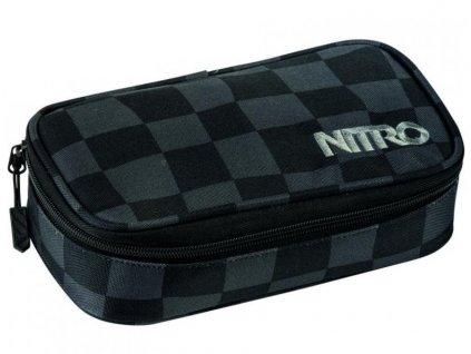 Penál NITRO PENCIL CASE XL Checker