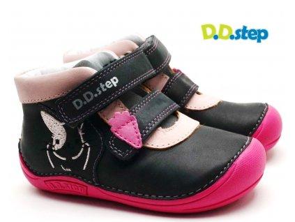 Dětské boty DDstep 018-599A králík