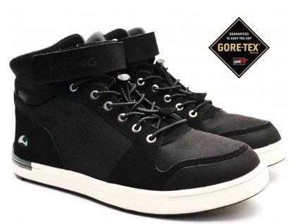 VIKING 3-50150 black Dětské boty