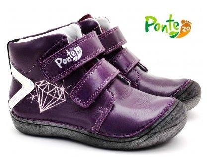 Dětské boty PONTE PP120A-DA03-808B fialové