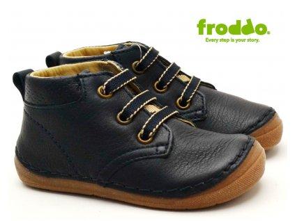 Dětské boty FRODDO G213206-4 tm. modrá