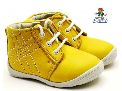 Dětské boty ESSI SÁZAVAN S 2009 žluté
