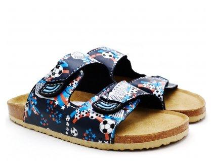Bio pantofle 704010 blau