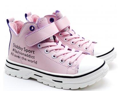 Dětské boty SLOBBY 162-2041 růžové