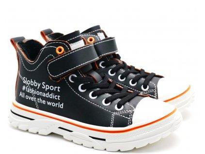 Dětské boty SLOBBY 162-2041 černé