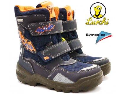 Zimní boty LURCHI 33-31046-32 Atlantic Orange