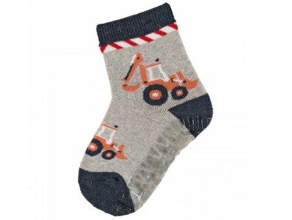 Protiskluzové ponožky STERNTALER 8142000 hellgrau
