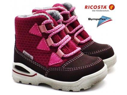 Zimní boty RICOSTA 39301 362 fuchsia