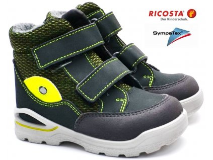 Zimní boty RICOSTA 39323 492 grigio