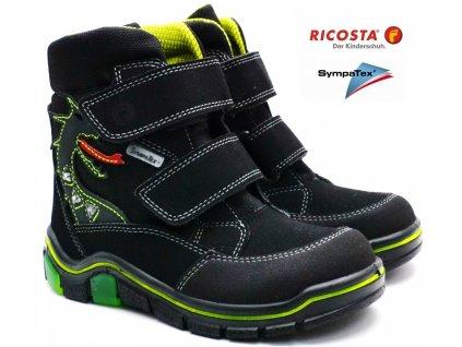 Zimní boty RICOSTA 52311 92 BLIKACÍ