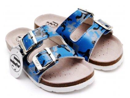 Pantofle BF BA5251116 modré