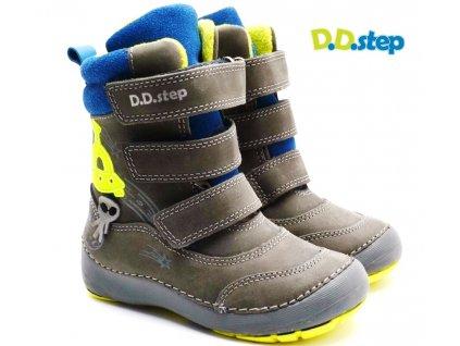 Zimní boty DDstep 023-513 šedé