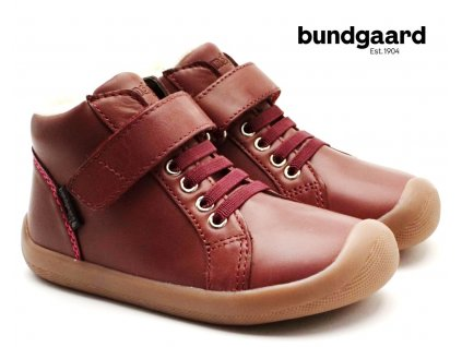 BUNDGAARD BG303206DG Walker Mid Lace Plum