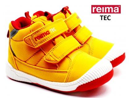 Dětské boty REIMA Passo Ochre Yellow