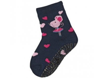 Protiskluzové ponožky STERNTALER 8142014 navy