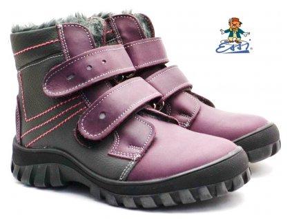 Zimní boty SÁZAVAN ESSI S 2060 vínové