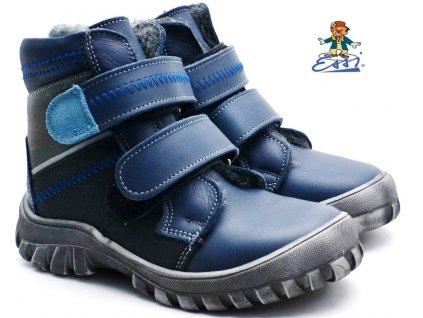 Zimní boty SÁZAVAN ESSI S 2037 modré2
