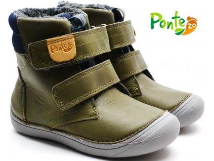 Zimní boty PONTE PV120-DA03-1-825A khaki
