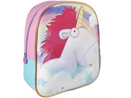 Dětský batoh 3D Unicorn Cer 2127 tyrkysový