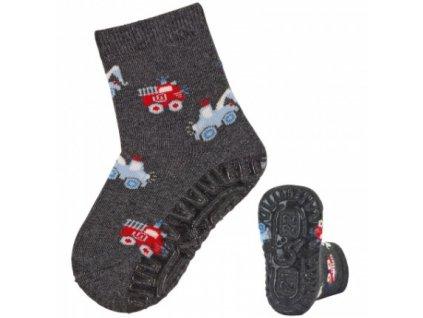 Protiskluzové ponožky STERNTALER 8132000 anthrazit